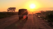 Stock Video Footage of African UN Supply Truck
