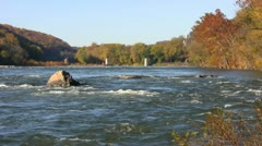 Potomac River Harpers Ferry Stock Footage