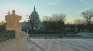 Stock Video Footage of Capitol view from Supreme Court
