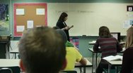 Stock Video Footage of Teaching class