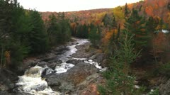 River Fall 14 - H264 - stock footage