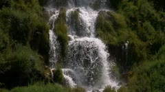 Green Waterfall - stock footage
