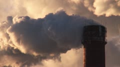 Air pollution. - stock footage