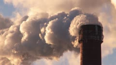 Air pollution. Stock Footage