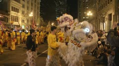 Chinese New Years Parade - San Francisco - stock footage