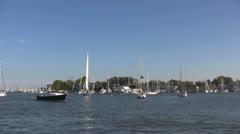 Annapolis Yacht Basin Stock Footage