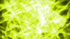 Yellow lightning magnetic energy field & fibre optic cross,dazzling laser rays Stock Footage