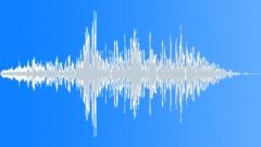 Flanged short dynamic whoosh - sound effect