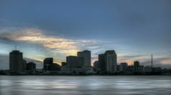 Skyline New Orleans Stock Footage