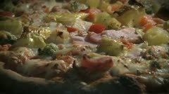 Pizza in Oven - stock footage