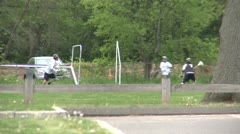 Boys Lacrosse team at practice (2 of 2) Stock Footage