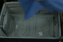 Packing Suitcase - stock footage