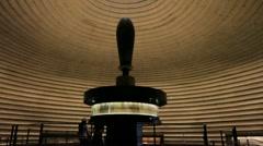 Dead Sea Scrol Exhibit Stock Footage