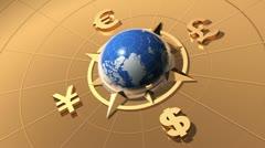 Money concept Stock Footage