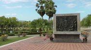 | Sukhothai | Thailand | King Ramkhamhaeng Monument Stock Footage