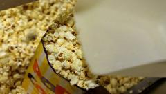 Cinema Serving Popcorn 1 Stock Footage