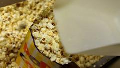 Cinema Serving Popcorn 1 - stock footage
