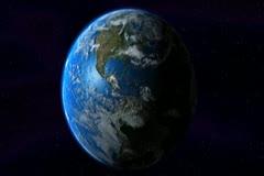 0160 Espacio NTSC Stock Footage