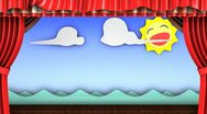 Theater stage Stock Footage