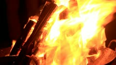 Flame Stock Footage