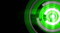 Digital Ring Spin 7 Stock Footage