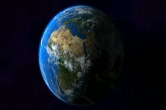 0164 Espacio NTSC - stock footage