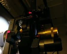 Cinema 35mm Film Projector 1 PAL SD Stock Footage