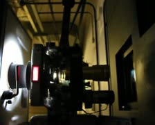 Cinema 35mm Film Projector PAL SD Stock Footage