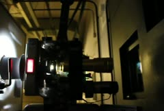 Cinema 35mm Film Projector NTSC SD Stock Footage