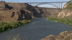 Perrine Bridge 3 - stock footage