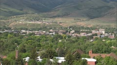 Pocatello City Pan - stock footage