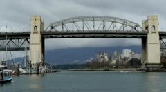 Burrard Bridge Stock Footage