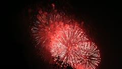 Firework - stock footage