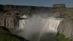 Shoshone Falls Stock Footage