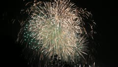 Firework - stock footage