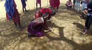 Stock Video Footage of Maasai shows outsiders how to start fire 2
