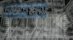 National Debt Stock Footage