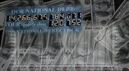 Stock Video Footage of National Debt