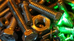 Detail of the mechanism Stock Footage