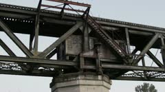 Swing Bridge #2 Stock Footage