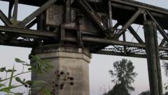 Swing Bridge #3 Stock Footage
