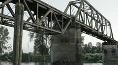 Swing Bridge #1 Stock Footage