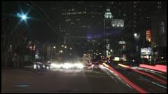 North Beach, San Francisco timelapse - stock footage