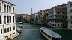 Grand Canal North, Venice, Italy - stock footage