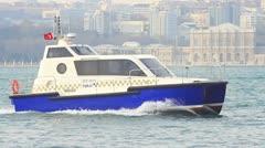 Sea Taxi Stock Footage