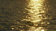 Reflection of a sun - stock footage