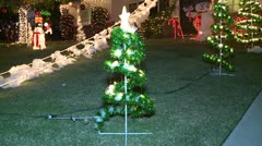 Christmas Decorations 6 Stock Footage