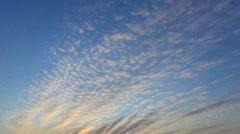 Cloudscape - stock footage