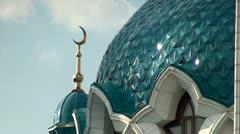 The Kazan mosque Kul Sharif Stock Footage