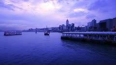 Hong Kong Harbour III Stock Footage